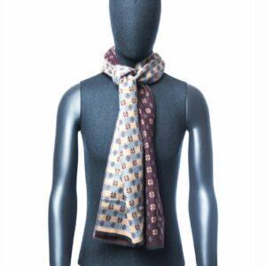 Sjaal heren met patroon