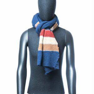 Gestreepte sjaal heren