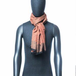 Lichtbruine sjaal heren
