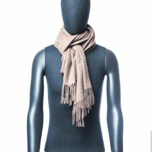 Beige sjaal heren