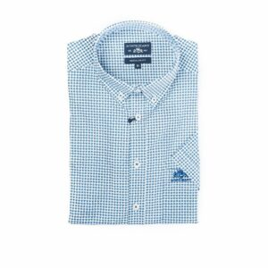 lichtblauw hemd met korte mouwen State of Art